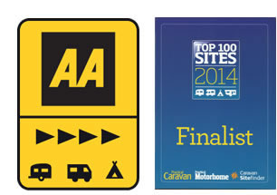 AA Award and Finalist of Top 100 Sites 2014, Practical Caravan,