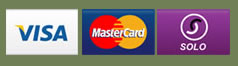 We accept most major credit cards