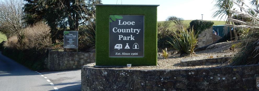 Welcome to Looe Country Park, Caravan and Camping Park, Looe