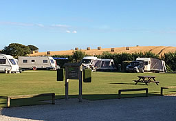 Pitches for touring caravans Looe Cornwall