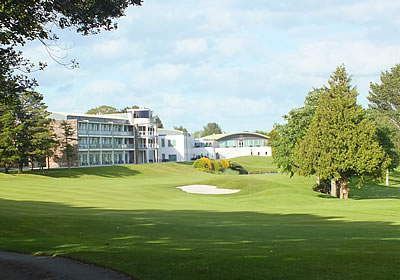 The internationally renowned golf course at St Mellion