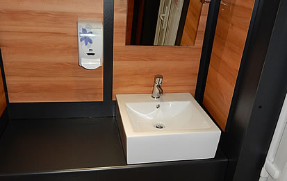 Immaculate modern washroom facilities